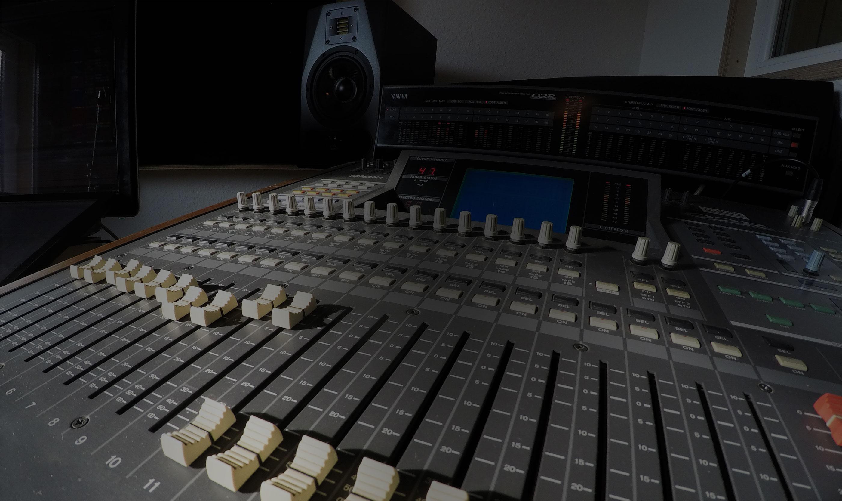 Professionelle Aufnahmetechnik